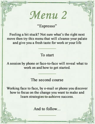 The Coaching Café - Face To Face Coaching